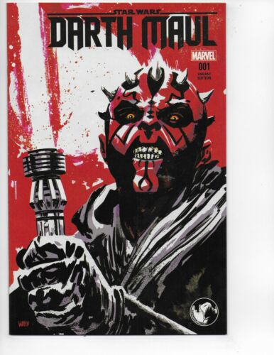 Darth Maul 1 Variant 2017 Star Wars htf key marvel comic