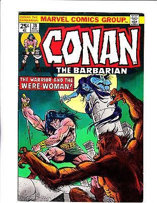 Conan The Barbarian No.38   : 1974 :     :