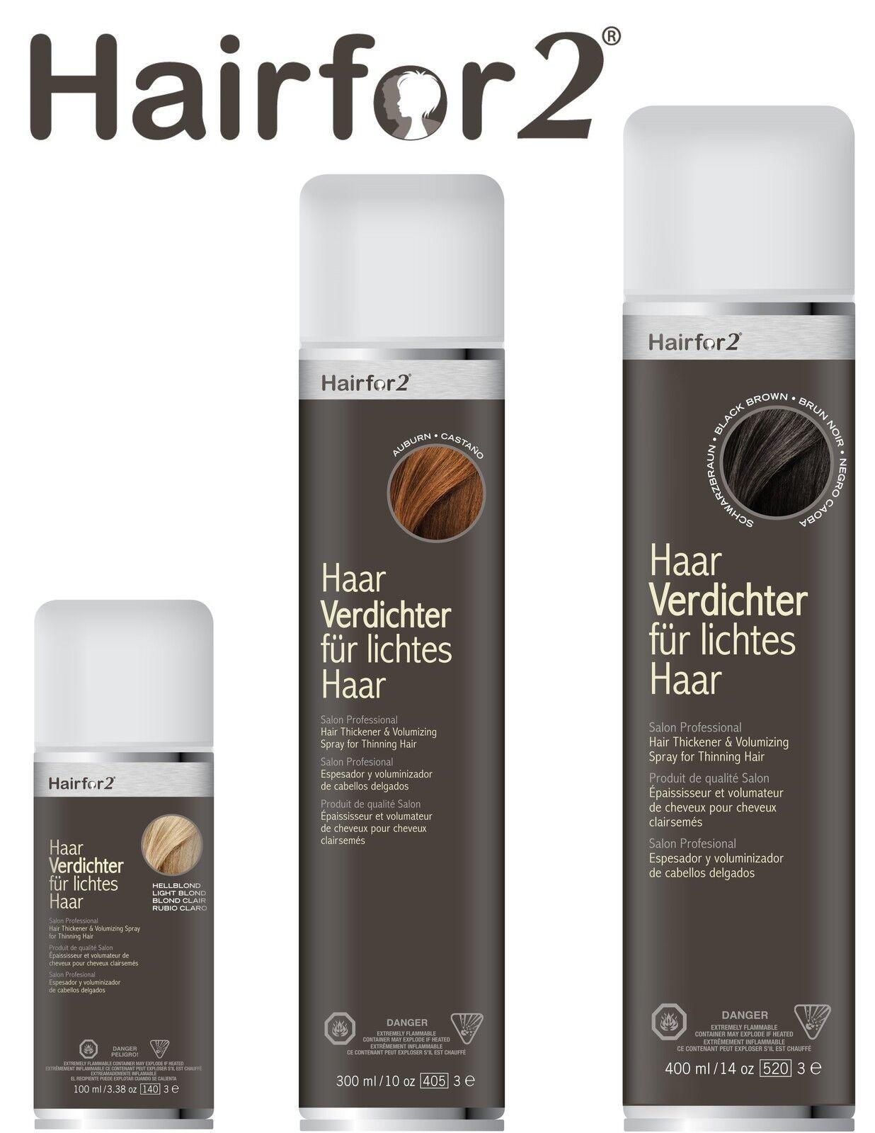 Hairfor2 Haarverdichtungsspray 100ml-Dose