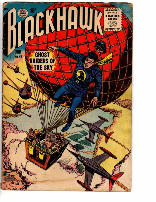 BLACKHAWK 89 GOOD June 1955