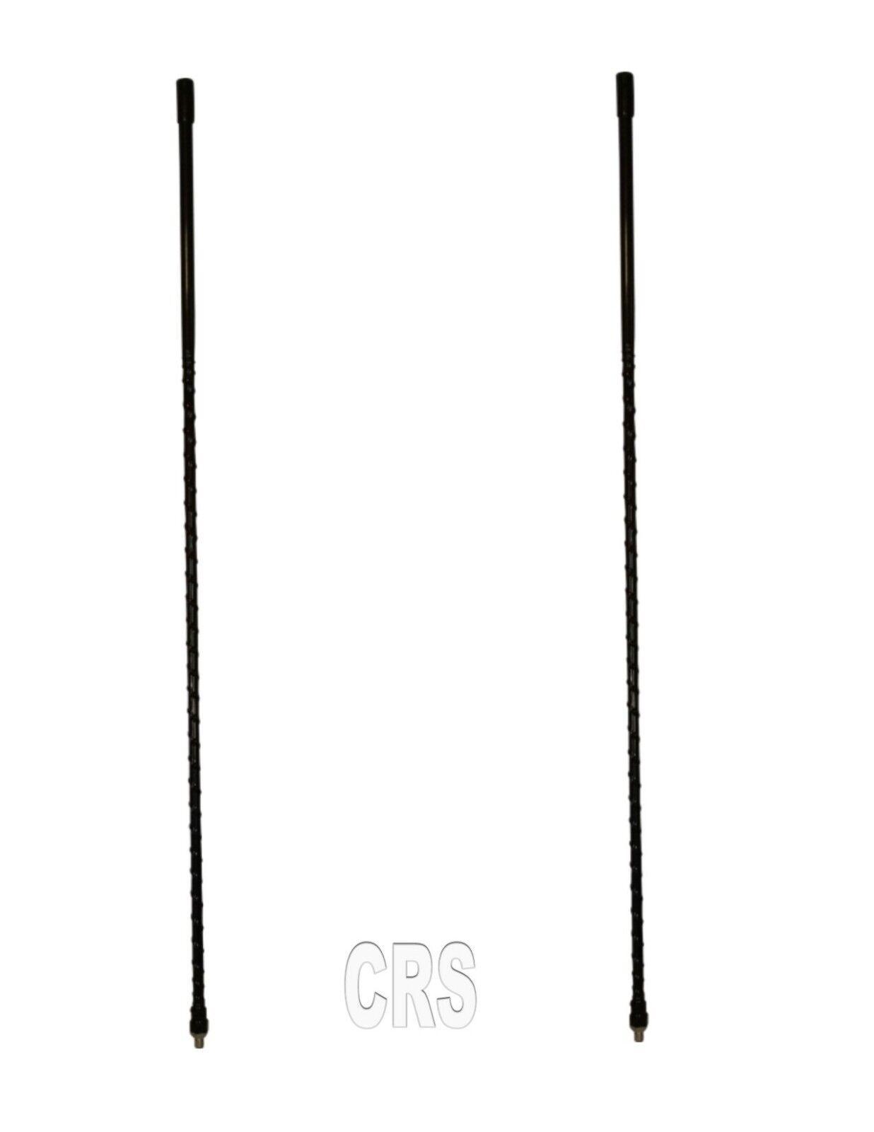 LOT OF 2 CB RADIO SUPPLY 4` Foot Fiberglass 500 Watt CB Radi