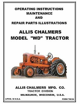 Allis Chalmers Wd Tractor Parts | Owner's Guide to Business