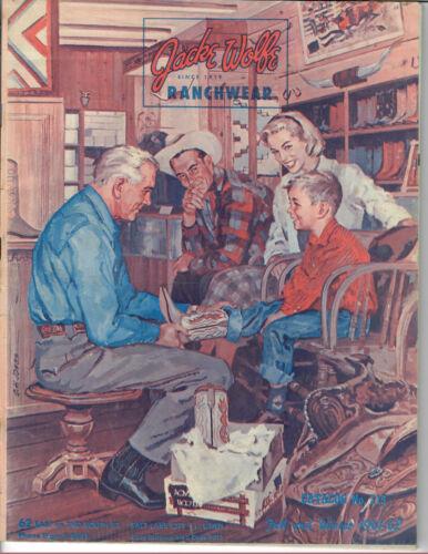 JACK WOLFE RANCHWEAR 1960-61 Fall & Winter Western Fashion Catalog