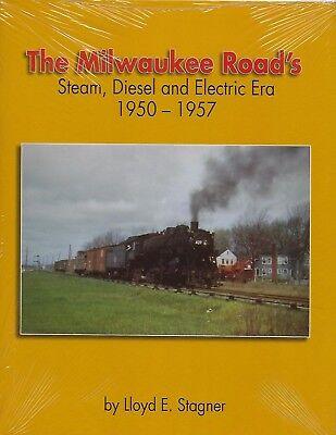 The Milwaukee Road's Steam, Diesel y Eléctrico Era, 1950-1957 (Libro Nuevo)