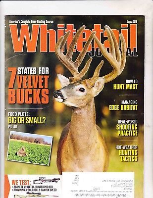 WHITETAIL JOURNAL MAGAZINE --AUGUST 2018