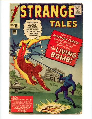 Strange Tales 112 Atomic Explosion cover