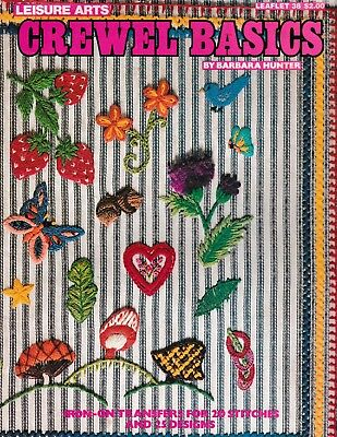 - Crewel Basics | Leisure Arts 38 Needlework Iron-On Transfer