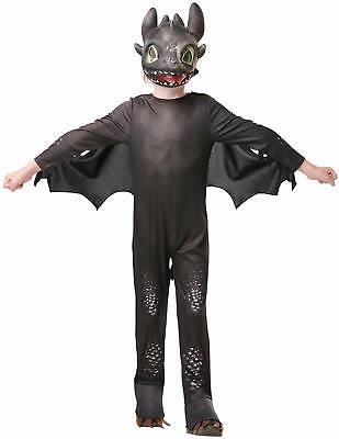 Toothlees Ohnezahn Drachenzähmen 3 Kinder Karneval Fasching Kostüm 104-128 (Kind Drachen Kostüme)