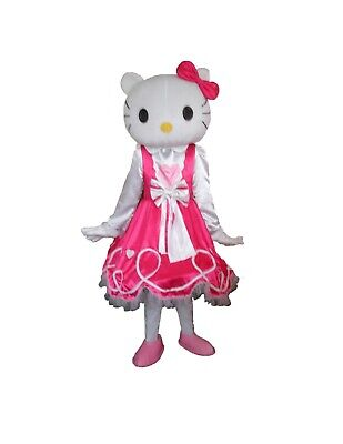 RENT HELLO KITTY Adult Mascot Costume Character Halloween Party Birthday Girls - Hello Kitty Halloween Birthday Party