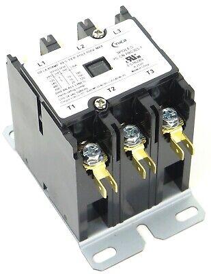 Dayton 240VAC IEC Magnetic Contactor 4 Pole 40 Amp 2NO//2NC Motor Starter 2UXU6