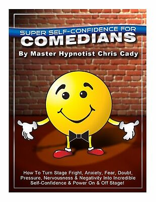 Confidence For Stand up Comedians with hypnosis CD mp3  bundle  Mp3-bundle