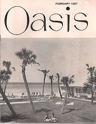 Oasis Magazine February 1957 Social Security Administration Newsletter