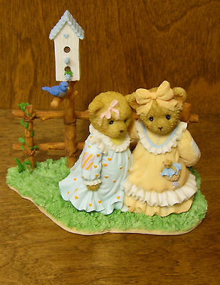"Cherished Teddies #4025779 ALICE and GRETA, 4.75"" From Retail Store, Mint/Box"