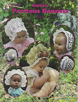 - Crochet baby bonnet pattern