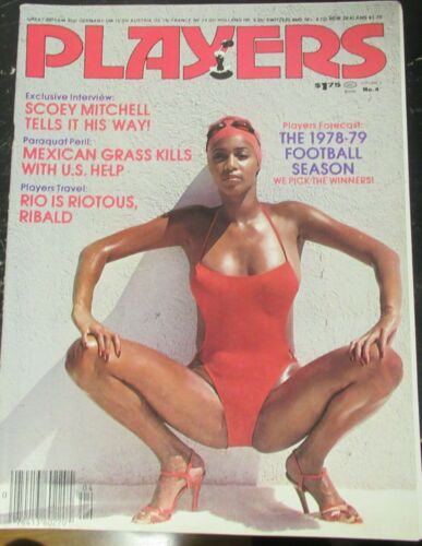 PLAYERS VOLUME 5 # 4 VINTAGE AFRICAN AMERICAN COLLECTABLE MAGAZINE