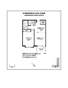 1 Bedroom Apt May First