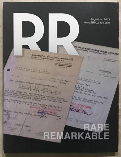 RR AUCTION CATALOG WALT DISNEY ENTERTAINMENT,HISTORICAL,POP CULTURE,SPACE,SPORTS