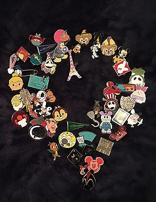 DISNEY TRADING PINS LOT OF 75 - 100% TRADABLE - NO DOUBLES -FAST U.S SHIPPER