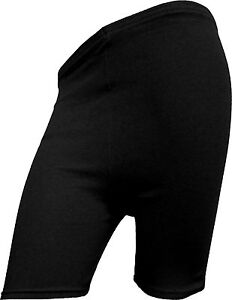 WOMENS CYCLING SHORTS LADIES DANCING SHORTS LYCRA LEGGINGS BLACK COLOR (8-20)