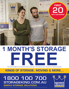 FREE 1st MONTH of SELF STORAGE when you sign up in JUNE 2017 Bibra Lake Cockburn Area Preview