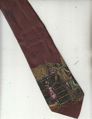 New 1930s Mens Fashion Ties Images-Ship Cruises 1930s Theme-100% Silk-Made In Italy-41-Men's Tie $38.61 AT vintagedancer.com
