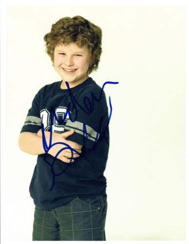 Nolan Gould Signed Autographed 8x10 Photo Modern Family Luke COA VD