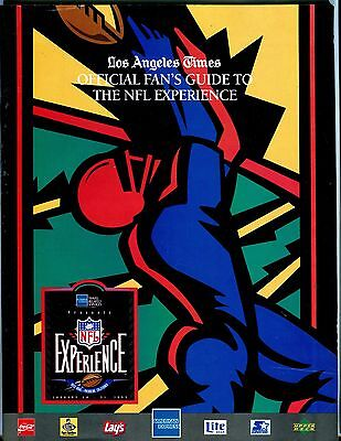 La Times Guide To The Nfl Experience 1993 Ex No Ml 052217Nonjhe