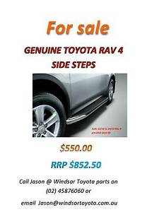 GENUINE TOYOTA RAV 4 SIDE STEPS Windsor Hawkesbury Area Preview