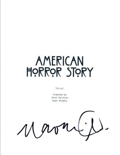 Naomi Grossman Signed Autographed AMERICAN HORROR STORY Pilot Script COA VD