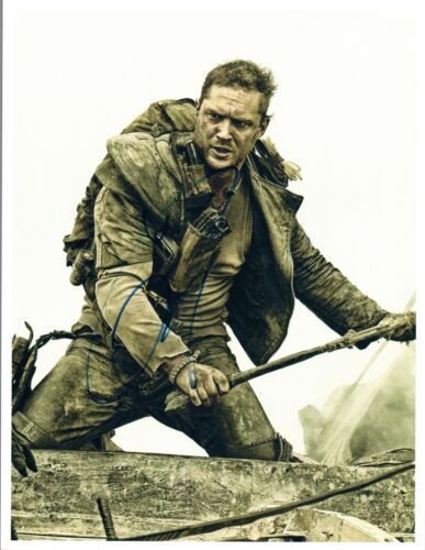 Tom Hardy Signed Autographed 8x10 Photo Bane Taboo Mad Max The Revenant COA VD