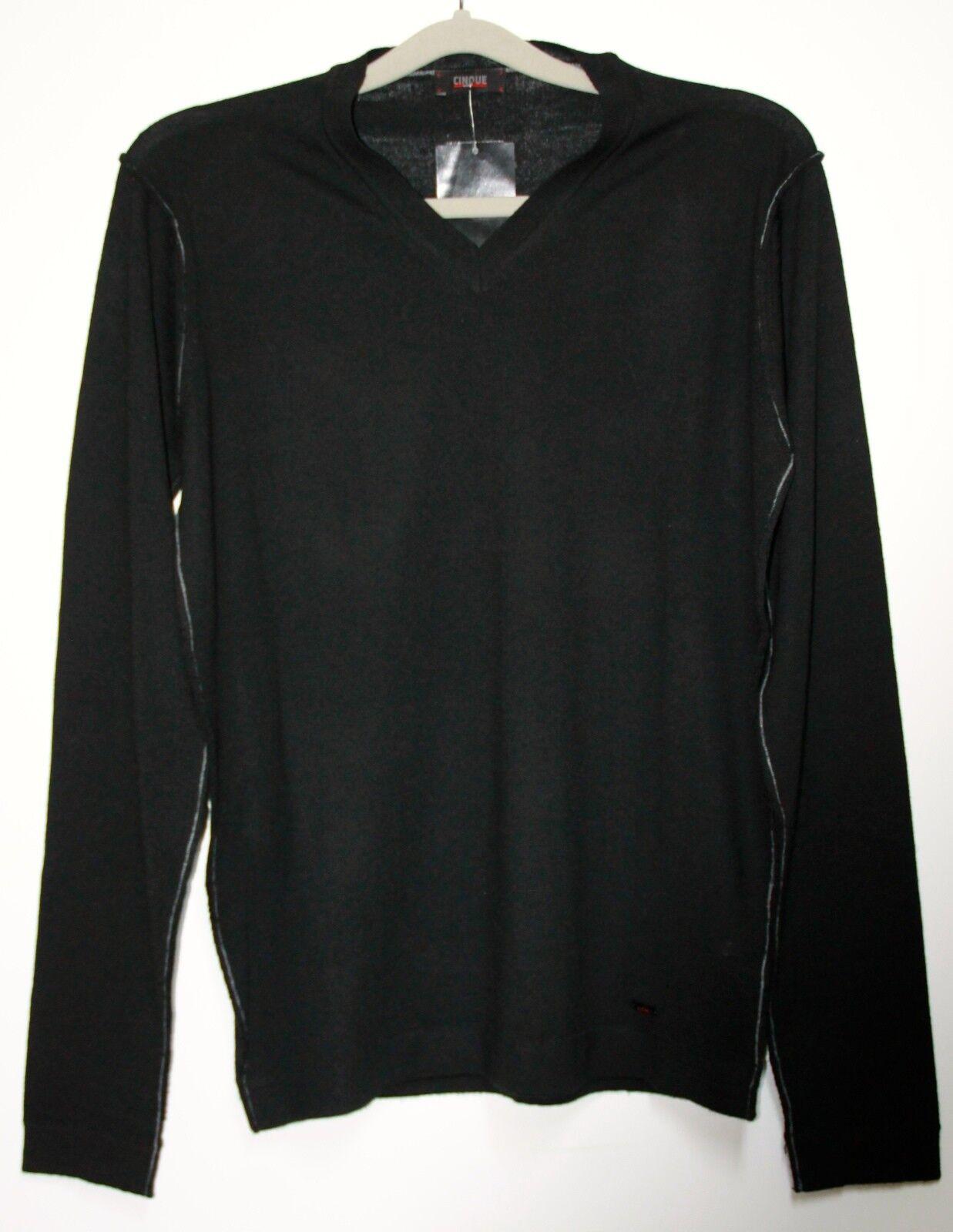 CINQUE Strick Pullover Cimiles Herren in Schwarz  Größe XL  Neu mit Etikett