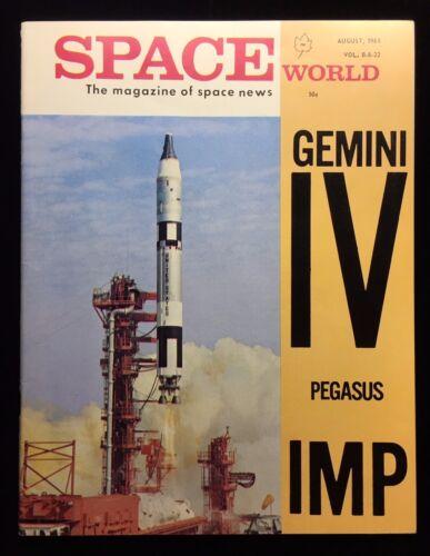 PROJECT GEMINI IV / 1965 SPACE WORLD MAGAZINE