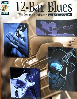 Wanted: 12-Bar Blues, The Complete Guide for Guitar, Book & CD