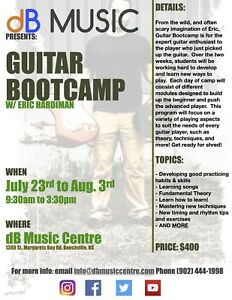 Summer Music Camps and Lessons dB Music