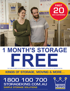 1st MONTH FREE when you store with us in June Osborne Park Stirling Area Preview