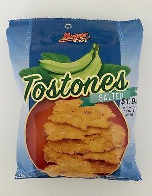 Bemar Snacks-Tostones Salted-24 bags