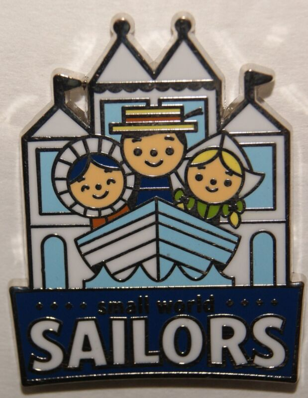 Disney Mascots Mystery Small World Sailors Pin Only
