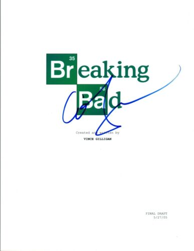 Anna Gunn Signed Autographed BREAKING BAD Pilot Episode Script COA AB