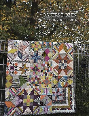 Bakers Dozen By Jen Kingwell Quilting Pattern Booklet