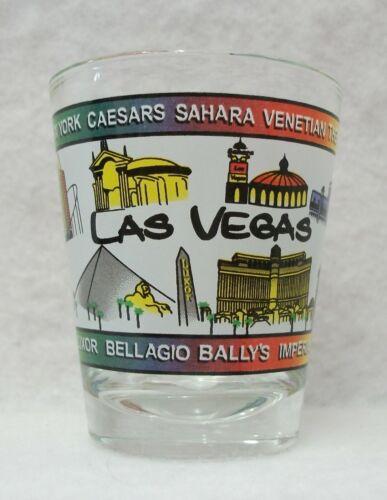 Colorful Las Vegas Nevada Casino short shot glass NICE