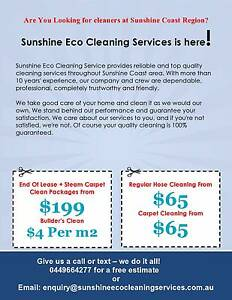 BOND CLEAN WITH A FREE CARPET CLEAN ALL SUNSHINE COAST AREA Mountain Creek Maroochydore Area Preview