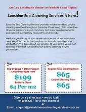 CHEAPEST &GUARANTEED  BOND & CARPET CLEAN ALL SUNSHINE COAST AREA Mountain Creek Maroochydore Area Preview
