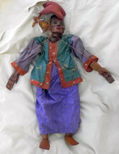 Marionette Puppet Male Penis Anatomically Correct Thailand Unknown Vintage GOOD
