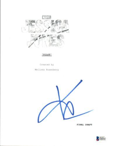 Krysten Ritter Signed Autograph JESSICA JONES Pilot Episode Script Beckett COA