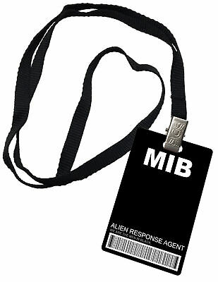 MIB Men In Black Novelty ID Badge Prop Costume
