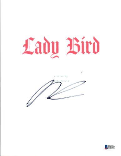 Saoirse Ronan Signed Autographed LADY BIRD Full Movie Script Beckett BAS COA