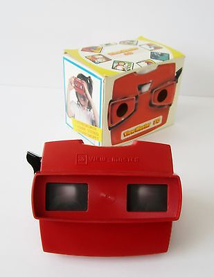 Model J / 10 Red Color Belgium-made GAF ViewMaster Viewer New in Box Mint