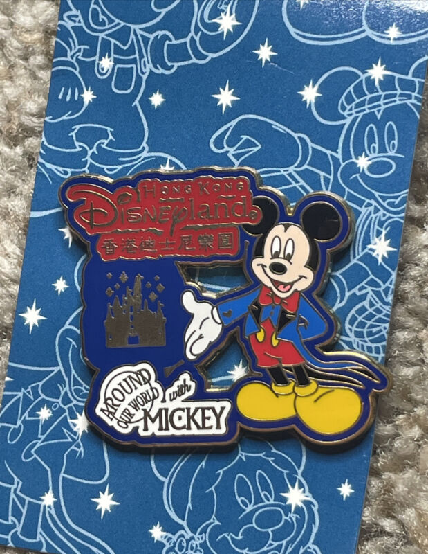 Pin 47396WDW - Around Our World With Mickey Hong Kong Disneyland
