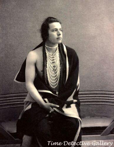 Native American Yakima Indian, Charlie van Pelt - 1900 - Historic Photo Print