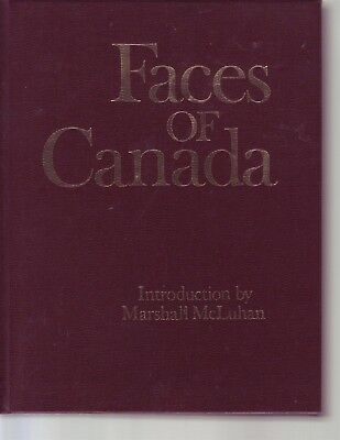 Faces Of Canada Hardcover BOOK Illustrated Canadian for sale  Shipping to India